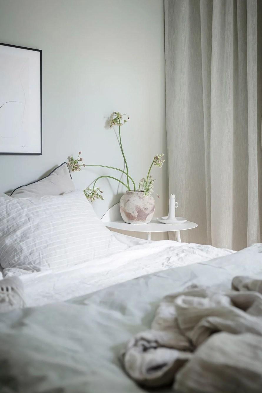 scandinavian feeling bedroom cozy hygge mint 1