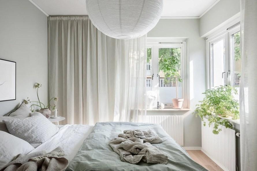 scandinavian feeling bedroom cozy hygge mint 3