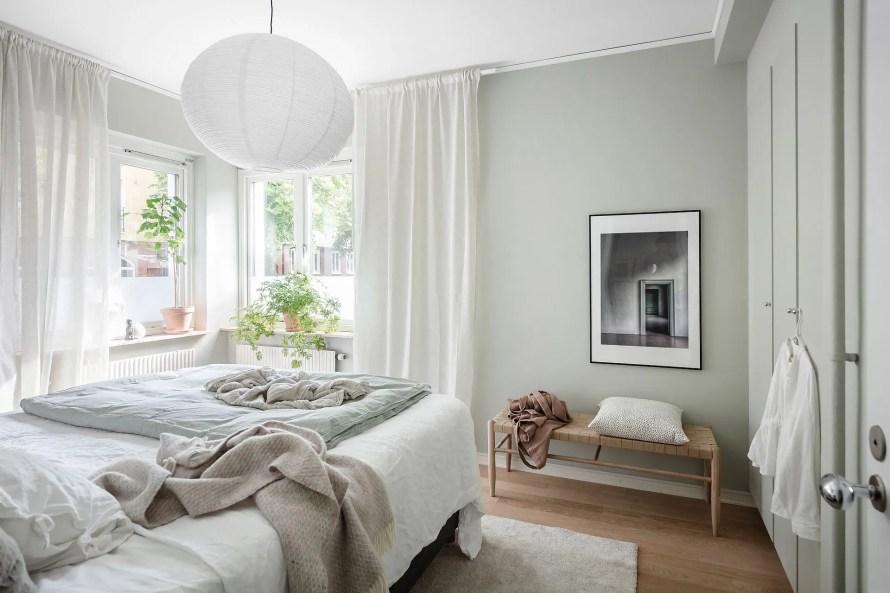 scandinavian feeling bedroom cozy hygge mint 4