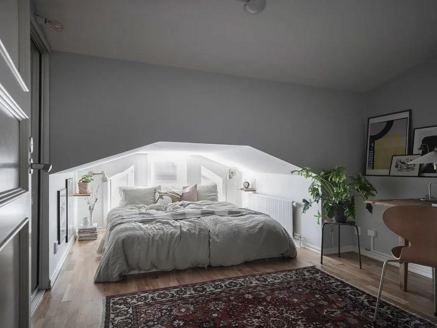 scandinavian feeling bedroom cozy hygge nook 1
