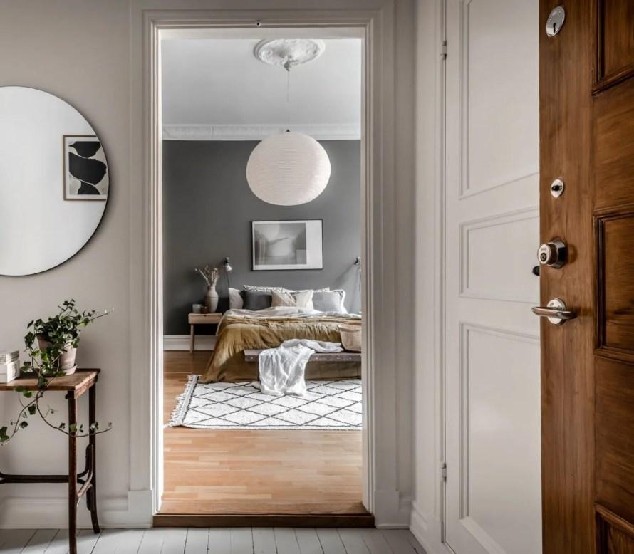 scandinavian feeling cozy bedroom hygge dark 1