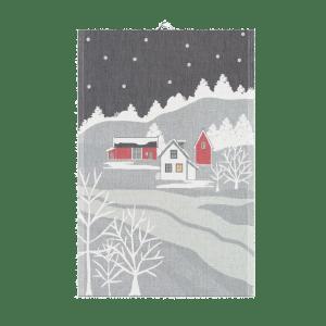 that scandinavian feeling shop winter teatowel