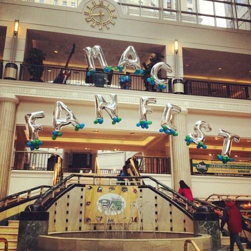 The MAC Fan Fest In Tower City