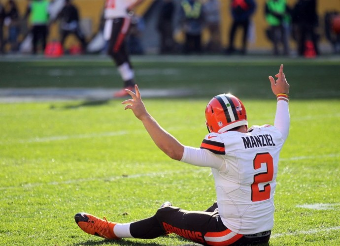 Johnny Manziel - Browns v 49ers - Joshua Gunter - Cleveland.com