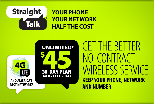 Straight Talk, Net 10, Simple Mobile Unlimited Data