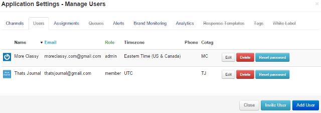 Add a team member in MediaFunnel