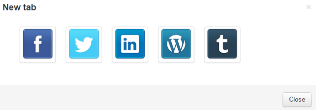 Authorize and add your social media accounts in MediaFunnel