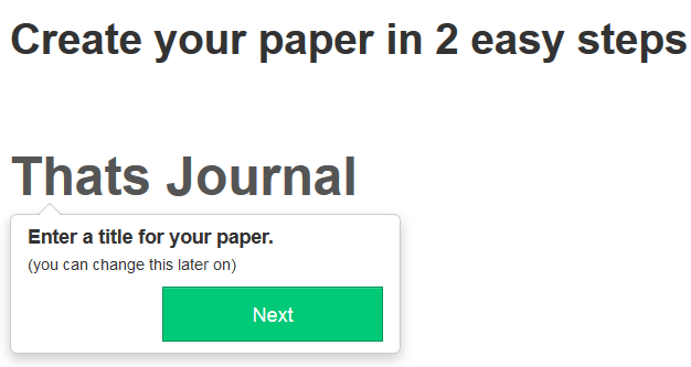 Enter title for your paper in Paper.li