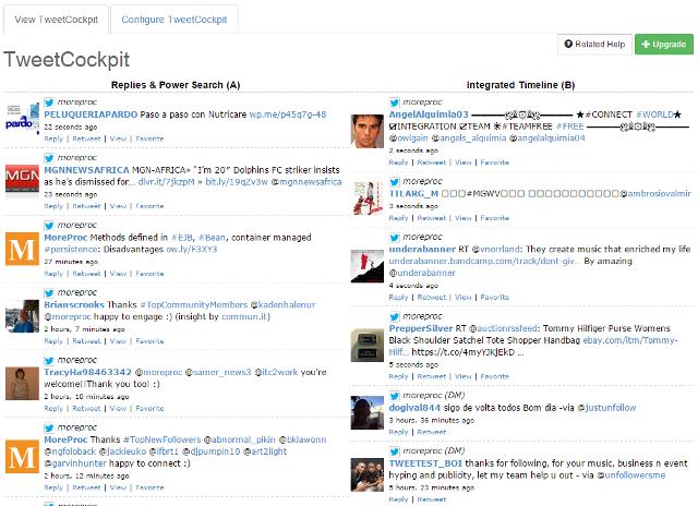 View TweetCockpit in SocialOomph