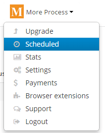 View your scheduled messages in RiteTag
