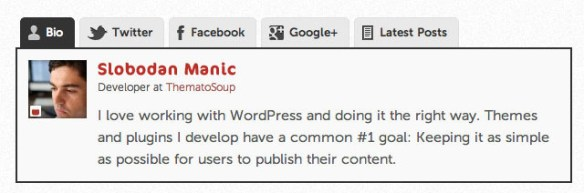 Best Author Info, Profile Manager WordPress Plugin | Thats
