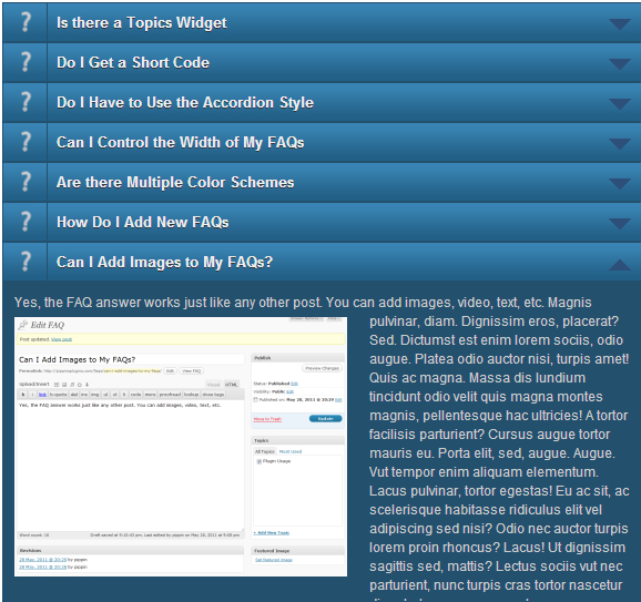Best WordPress Plugin To Add Frequently Asked Questions, FAQ