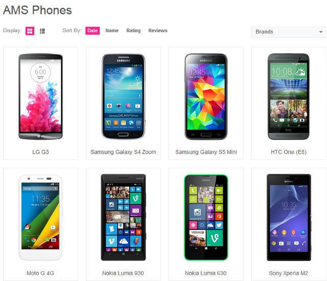 WordPress Plugin To Create Mobile Phone Comparison Website