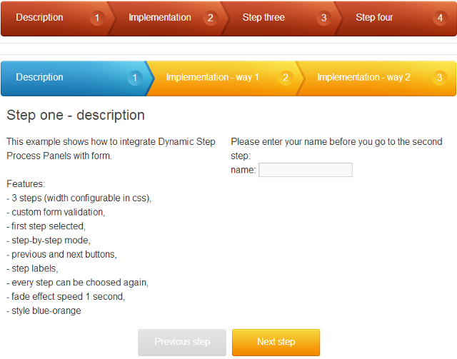 Best Wordpress plugin to create jQuery steps, multi step registration forms without coding