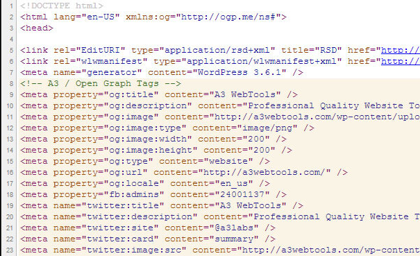 How to Add Open Graph Tags for Posts, Pages in WordPress