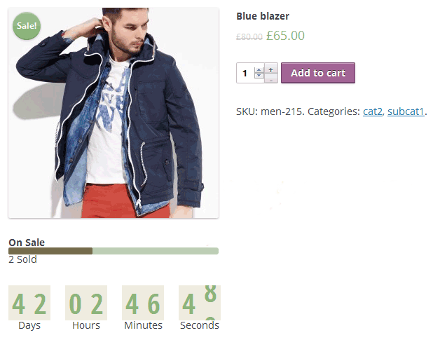 Add Countdown Timer, Quantity Counter In WooCommerce