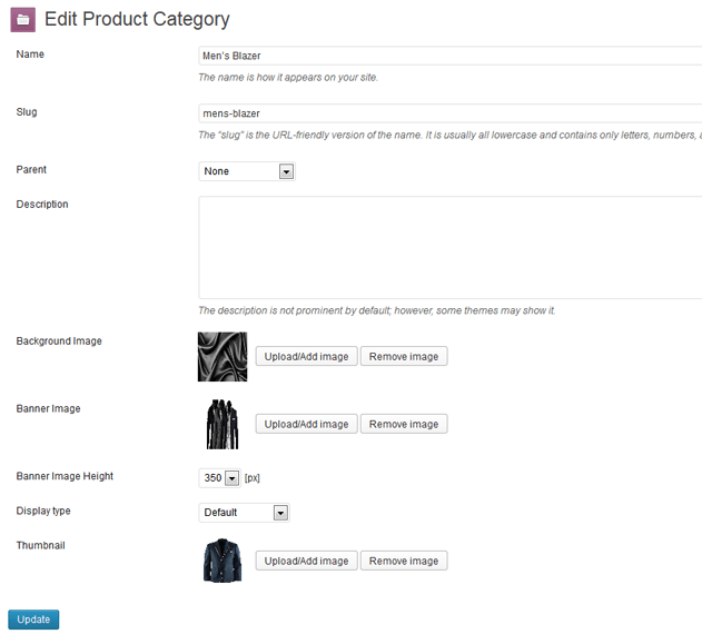 Change Background Images For Product Category In WooCommerce