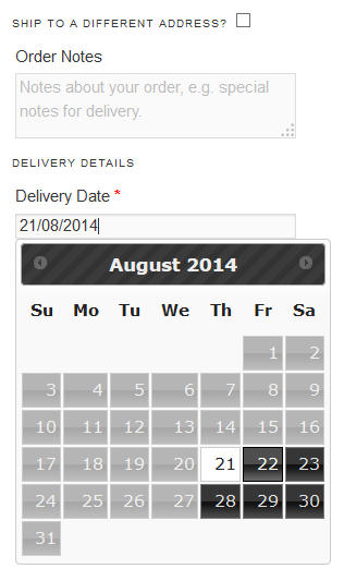 Let Customers Select Delivery Date, Time In WooCommerce