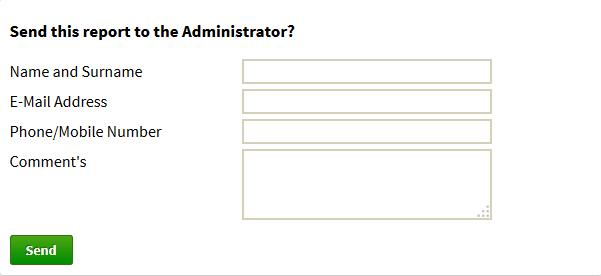 Send report summary to WordPress administrator