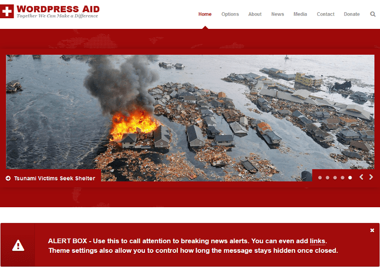 Aid WordPress Theme