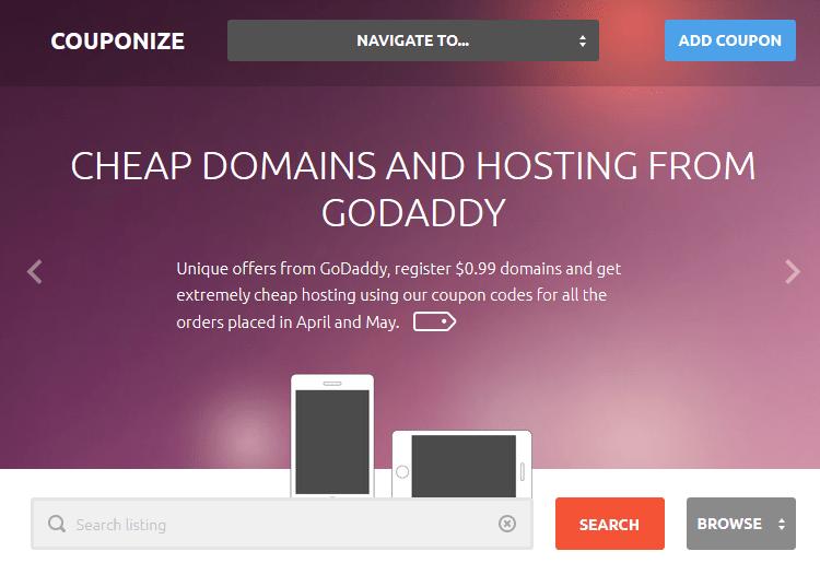 Couponize WordPress Theme