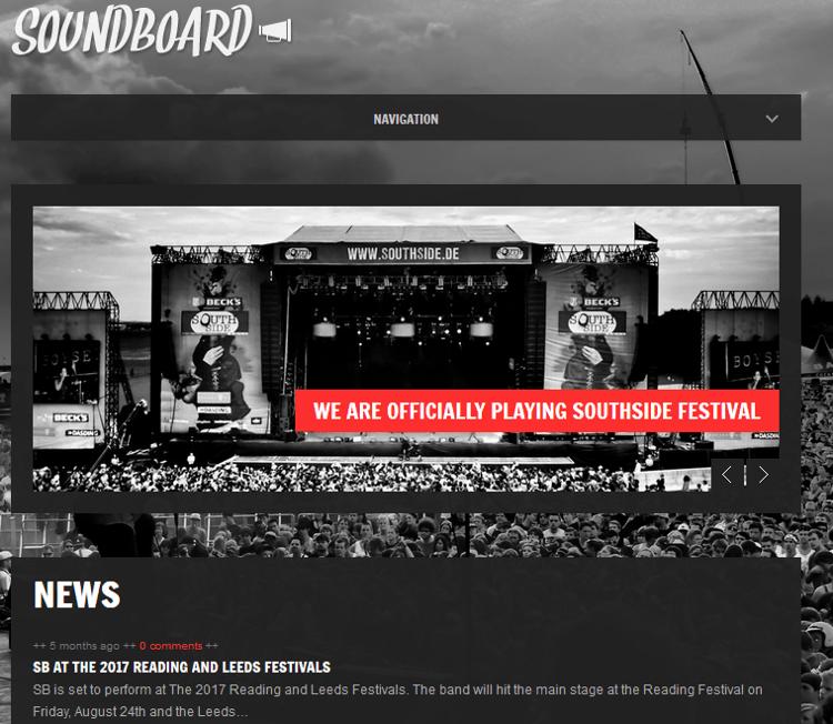 Soundboard WordPress Theme