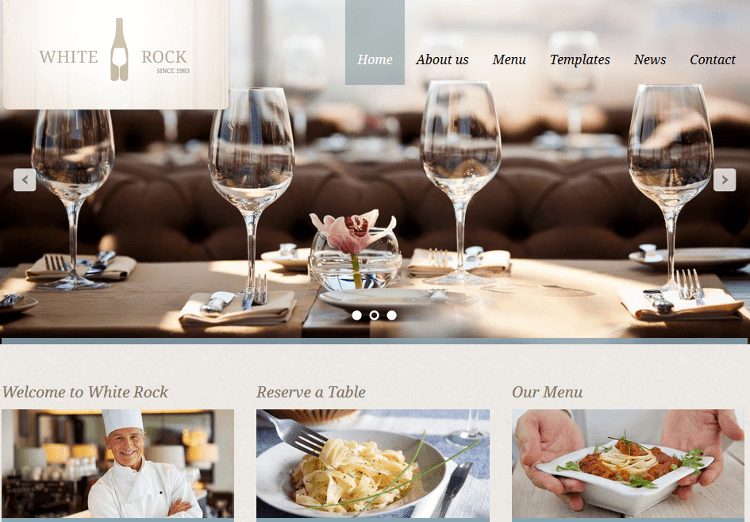White Rock WordPress Theme