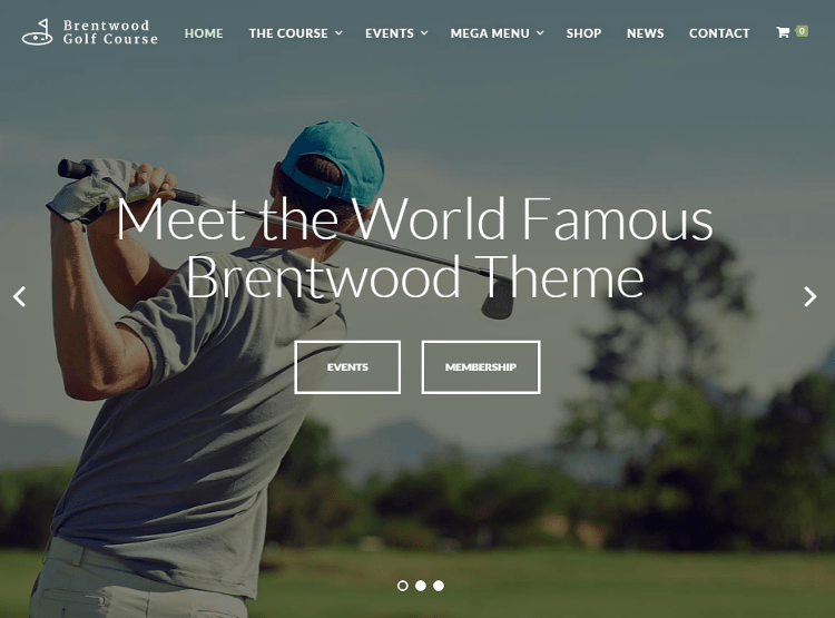 Brentwood WordPress Theme