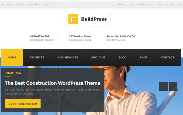 BuildPress WordPress Theme