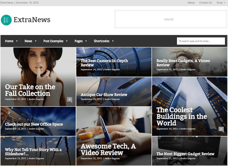 ExtraNews WordPress Theme