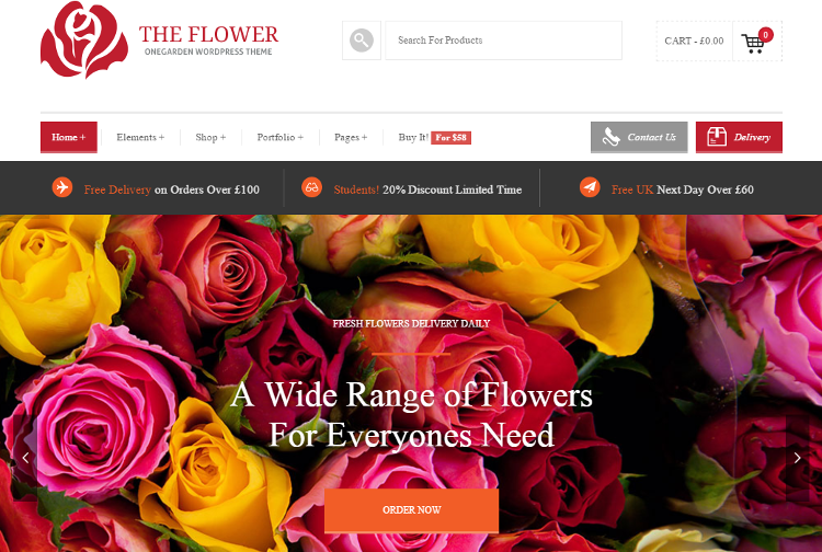 123 Garden WordPress Theme