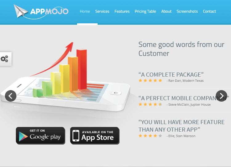 App Mojo HTML5 Template