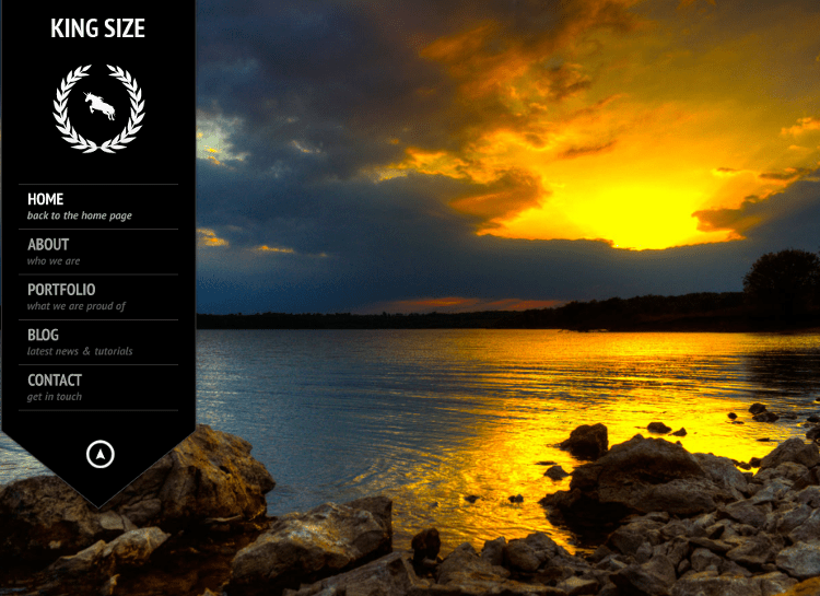 KingSize HTML5 Template