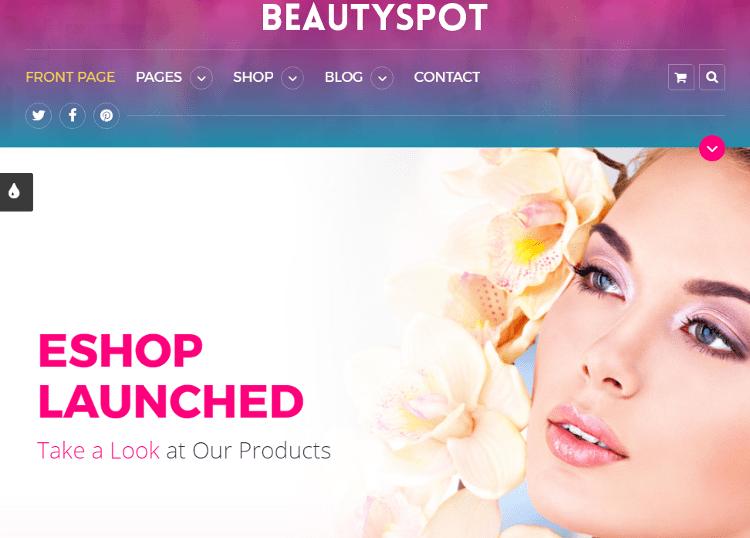BeautySpot HTML5 Template