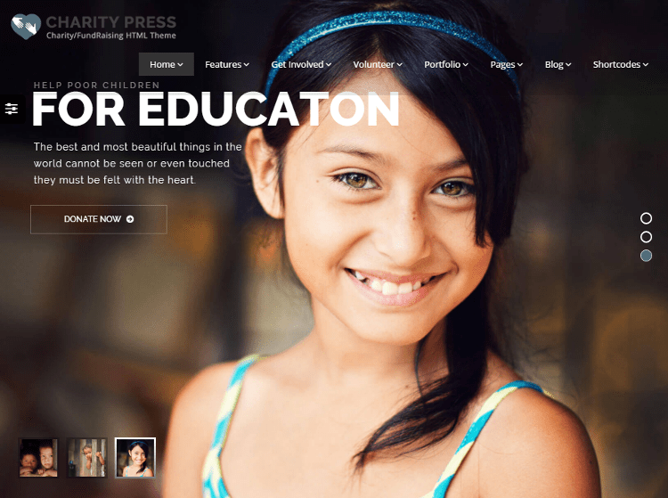 CharityPress HTML5 Template