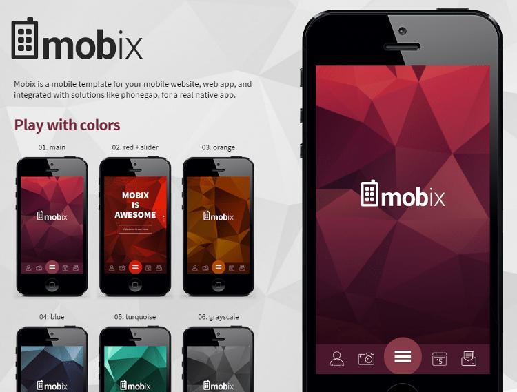 Mobix HTML5 Template