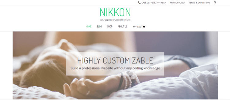 Nikkon WordPress Theme