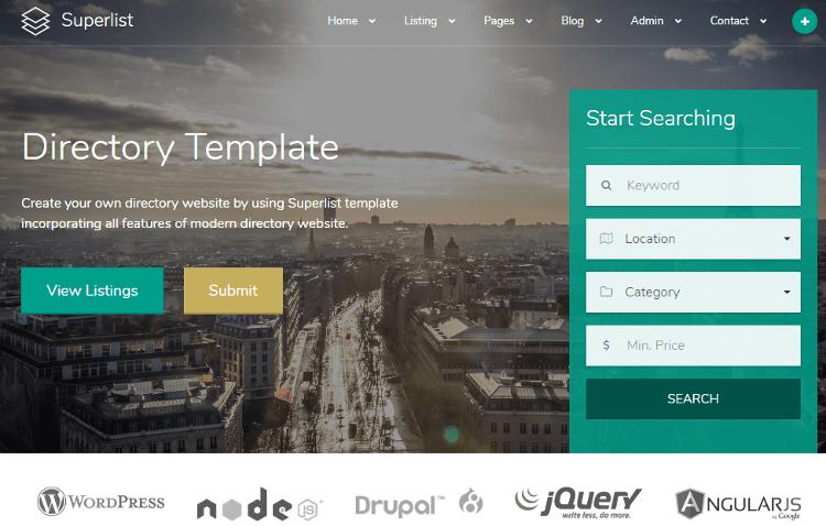 Superlist HTML5 Template