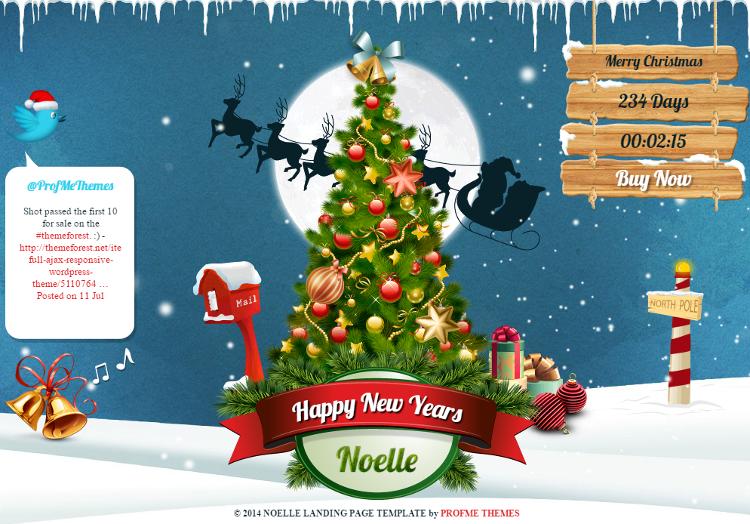 Noelle HTML5 Template