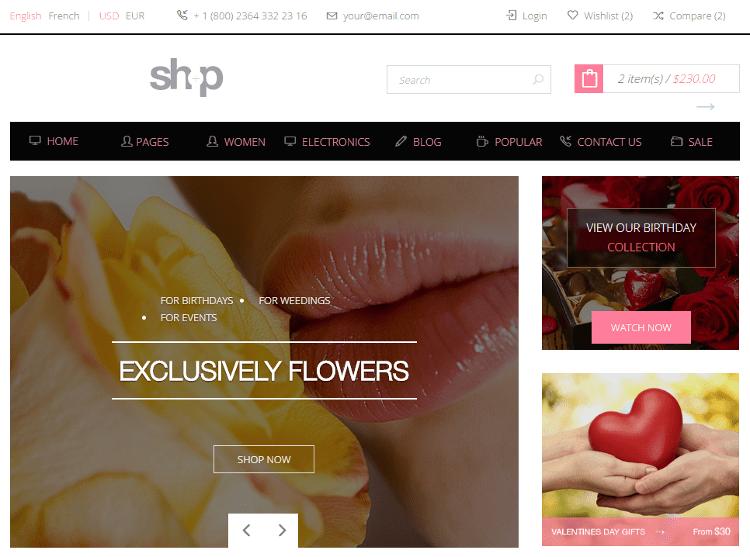Shop HTML5 Template