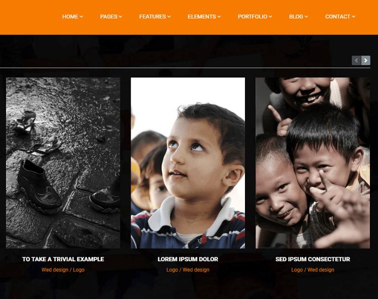 Probe Charity Drupal Theme