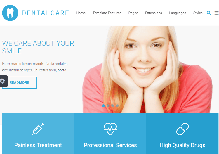 Doctor Joomla Template