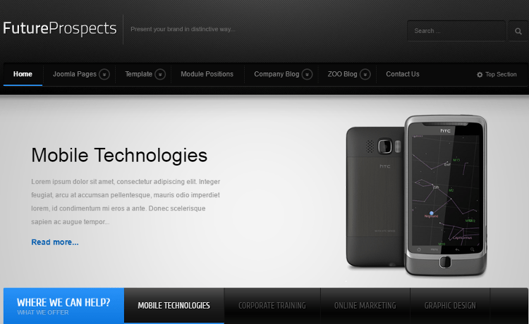 FutureProspects Joomla Template