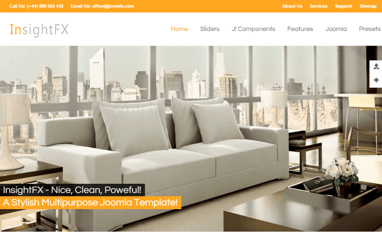 InsightFX Joomla Template