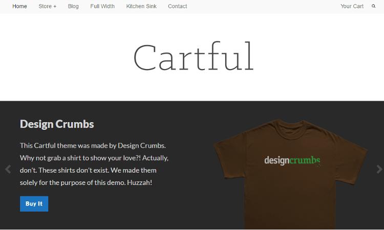 Cartful WordPress Theme