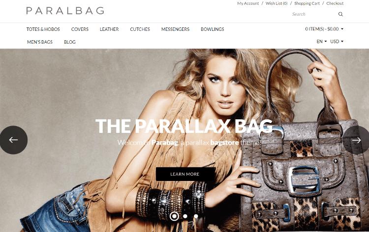 Parallax OpenCart Theme