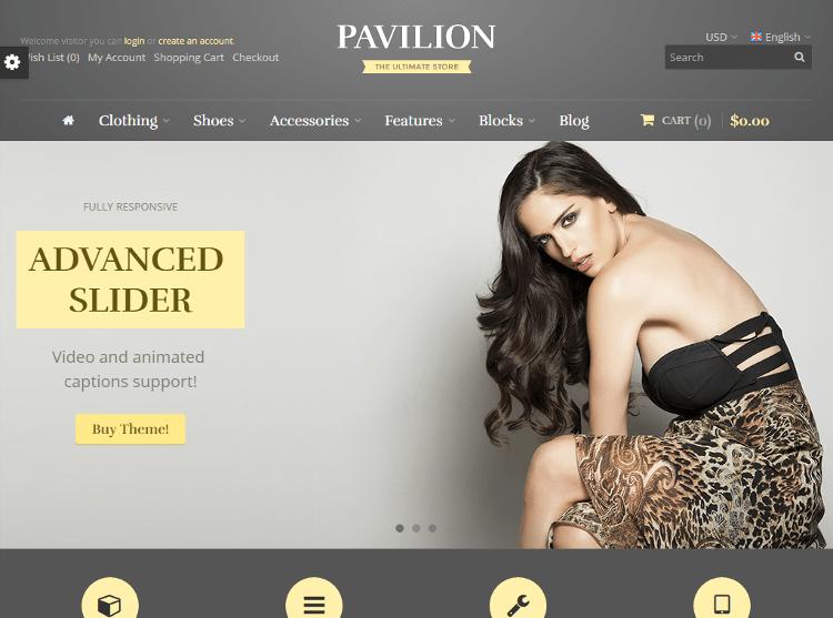 Pavilion OpenCart Theme