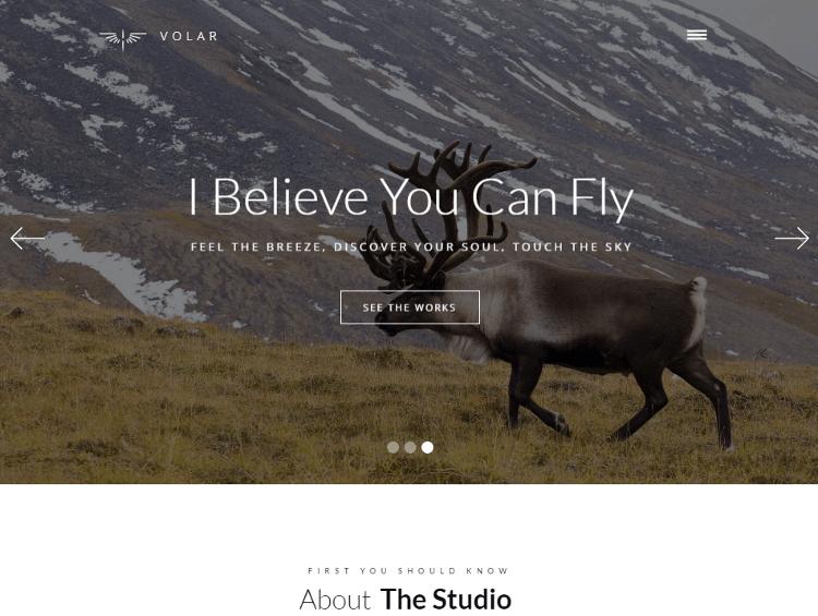 Volar Webflow Template