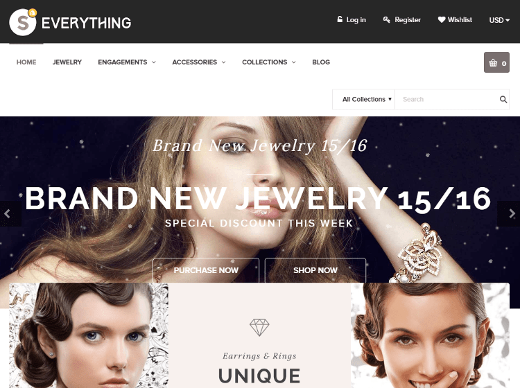 Everything Jewlery Store Shopify Theme