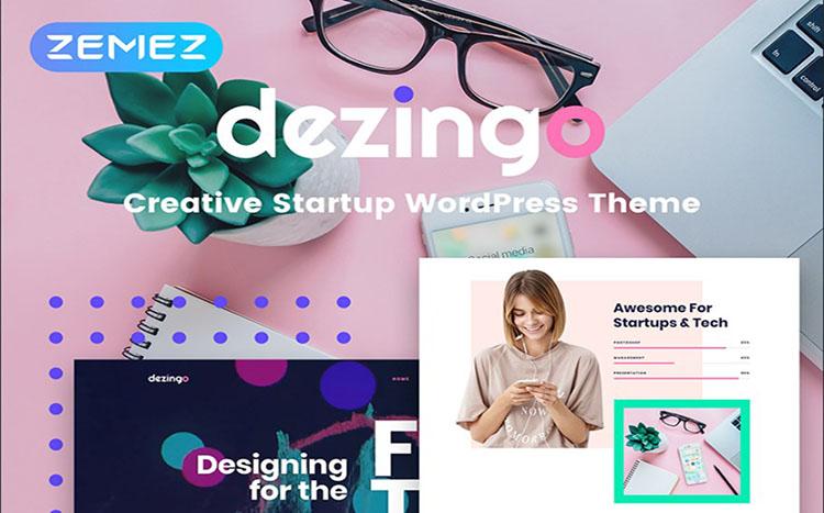 Dezingo - Creative Startup Theme